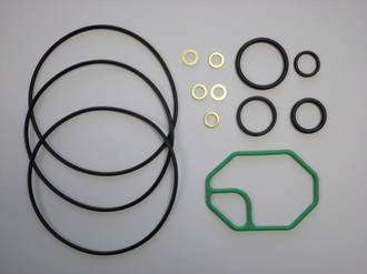 GASKET KIT ORINGS DENSO 10PA15 / 17  R134A