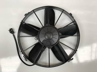 "FAN SPAL 12"" SKEW 12V PUSH"