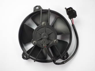 "FAN SPAL 5.1"" STRAIGHT 12V PULLER  AIRFLOW 530 M3/H 3.6 AMPS"