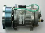 COMPRESSOR SANDEN SD7H15  24V 8PV 133MM SUIT CAT / CASE 4487